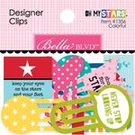 Oh My Stars Colorful Designer Clips - Bella Blvd
