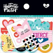 Hearts Designer Clips - Illustrated Faith
