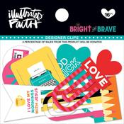 Bright & Brave Designer Clips - Illustrated Faith
