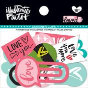 You Are Loved Designer Clips - Illustrated Faith