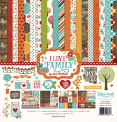 I Love Family Collection Kit - Echo Park