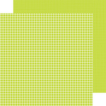 Citrus Gingham-Linen Petite Prints Paper - Doodlebug