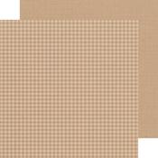Maple Gingham-Linen Petite Prints Paper - Doodlebug