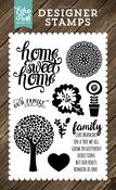 Family Home Stamp - I Love Family - Echo Park