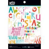 Word Art Clear Cuts Pad - Illustrated Faith