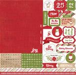 I Love Christmas Alpha Sticker - Echo Park