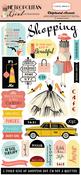 Metropolitan Girl 6x13 Chipboard Stickers - Carta Bella