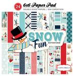 Snow Fun 6x6 Paper Pad - Carta Bella