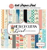 Metropolitan Girl 6x6 Paper Pad - Carta Bella