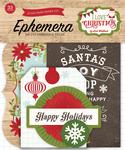 I Love Christmas Ephemera - Echo Park