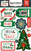 Deck The Halls Layered Stickers - Echo Park
