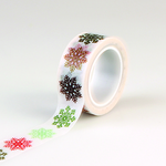 Multi Snowflakes Decorative Tape - Deck The Halls - Echo Park