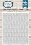 Pine Tree Embossing Folder - I Love Winter - Echo Park