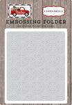 Snowflake #1 Embossing Folder - Christmas Delivery - Carta Bella
