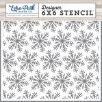 Winter Snowflakes Stencil - I Love Winter - Echo Park