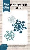 Snowflake #7 Die Set - I Love Winter - Echo Park