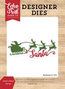 Santa's Sleigh Die Set - I Love Christmas - Echo Park
