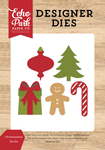 Christmastime Die Set - I Love Christmas - Echo Park