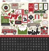 Christmas Delivery Sticker Sheet - Carta Bella