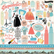 Metropolitan Girl Sticker Sheet - Carta Bella