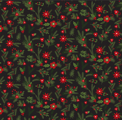 Christmas Floral Paper - Christmas Delivery - Carta Bella