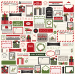 Christmas Tags Paper - Christmas Delivery - Carta Bella