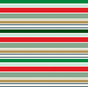 Merry Stripes Paper - Deck The Halls - Echo Park
