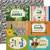 4x6 Journaling Cards Paper - Jungle Safari - Echo Park