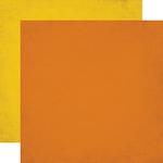 Orange / Yellow Solid Paper - Jungle Safari
