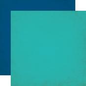 Dark Blue / Light Blue Solid Paper - JungleSafari