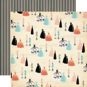 Fancy Couture Paper - Metropolitan Girl - Carta Bella