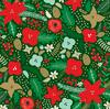 Holiday Bouquet Foil Paper - Deck The Halls - Echo Park