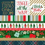 Border Strips Paper - Deck The Halls - Echo Park