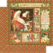 St Nicholas Paper - St Nicholas - Graphic 45