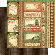 Season's Greetings Paper - St Nicholas - Graphic 45