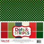 Gold Foil Christmas Dot Collection Kit - Echo Park