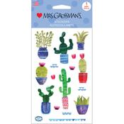 Cacti Sticker Sheet - Mrs Grossmans