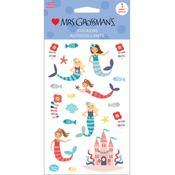 Merry Mermaids Sticker Sheet - Mrs Grossmans