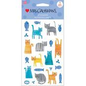 Cats Sticker Sheet - Mrs Grossmans