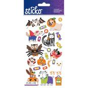 Halloween Animal Characters Stickers - Sticko