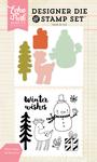 Winter Wishes Stamp & Die Set - Echo Park