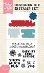 Winter Greetings Stamp & Die Set - Echo Park