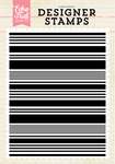 Stripe A2 Background Stamp Set - Echo Park