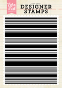 Stripe A2 Background Stamp Set - Echo Park