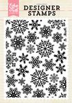 Winter Snow A2 Background Stamp Set - Echo Park