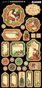 St Nicholas Journaling Chipboard - Graphic 45