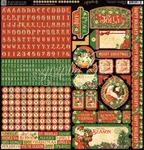 St Nicholas Sticker Sheet - Graphic 45