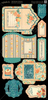 Cafe Parisian Tags & Pockets - Graphic 45