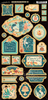 Cafe Parisian Decorative Chipboard - Graphic 45