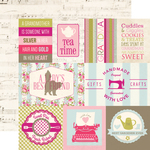 Journaling Cards Paper - Grandma - Echo Park